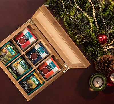 Win a year's worth of Dilmah Tea!